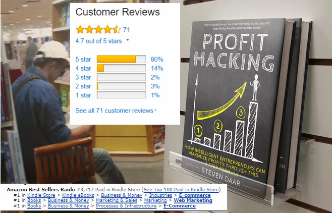 Profit Hacking Amazon Rankings and Reviews